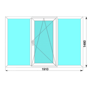 Окно Brusbox 60