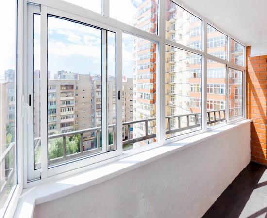 остекление балкона раздвижные алюминиевые рамы