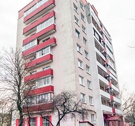 панельный дом вид балконов