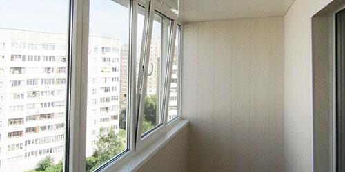 окна на балкон под ключ