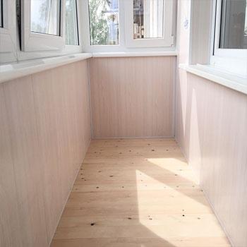 устройство пола на балконе готовая работа