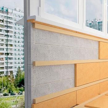 Утепление балкона и лоджии внутри и снаружи схема