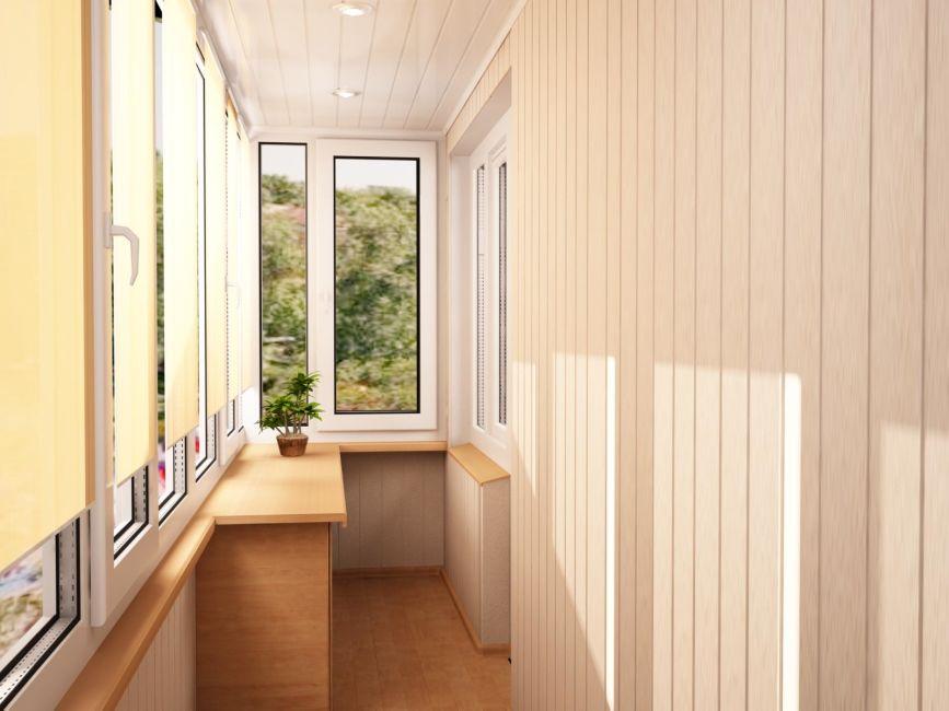 отделка балкона готовый вариант