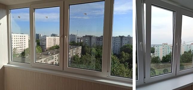 фото отзыв остекление балкона пвх