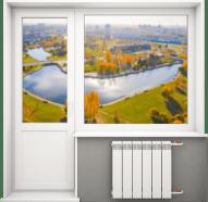 Цены на популярные модели окон балконный блок